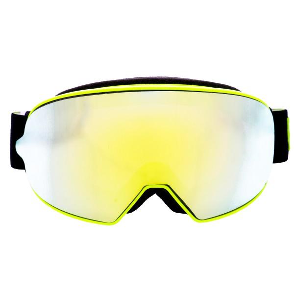 Broken Head Crossbrille Made2Rebel Gelb mit verspiegeltem Glas