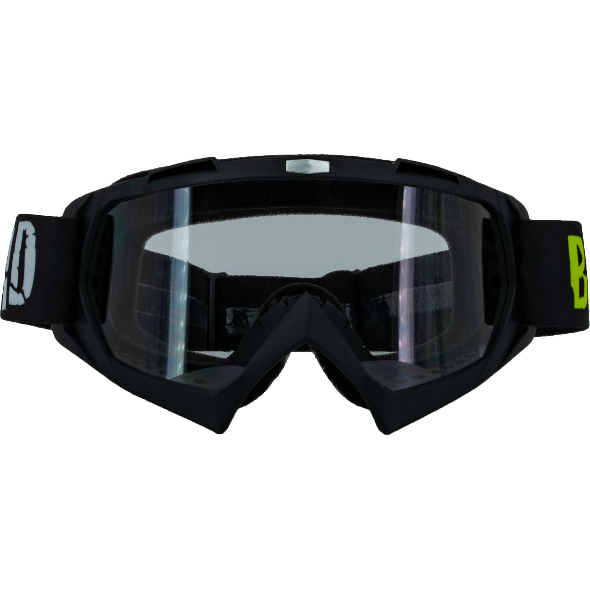 Offroad Broken Head MX-2 Goggle Rot Enduro Downhill Mit UV-Schutz Motorrad-Brille F/ür Motocross