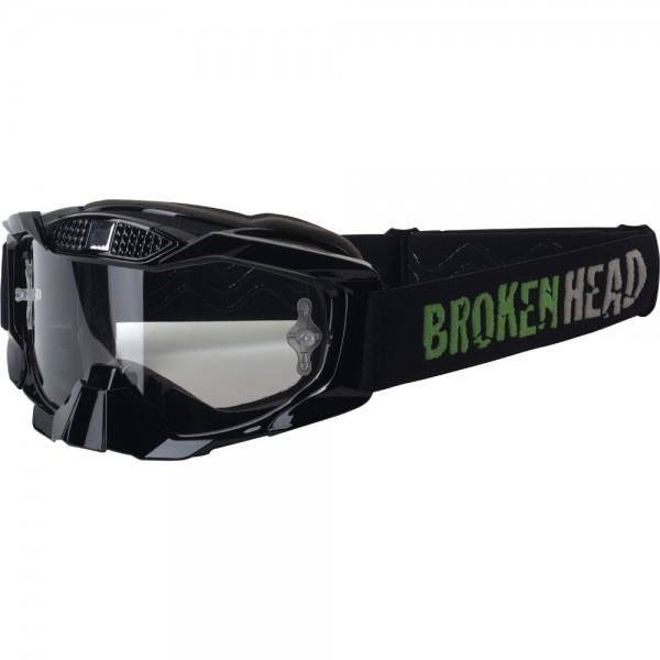 Broken Head MX-1 MX-Brille - Goggle schwarz-schwarz