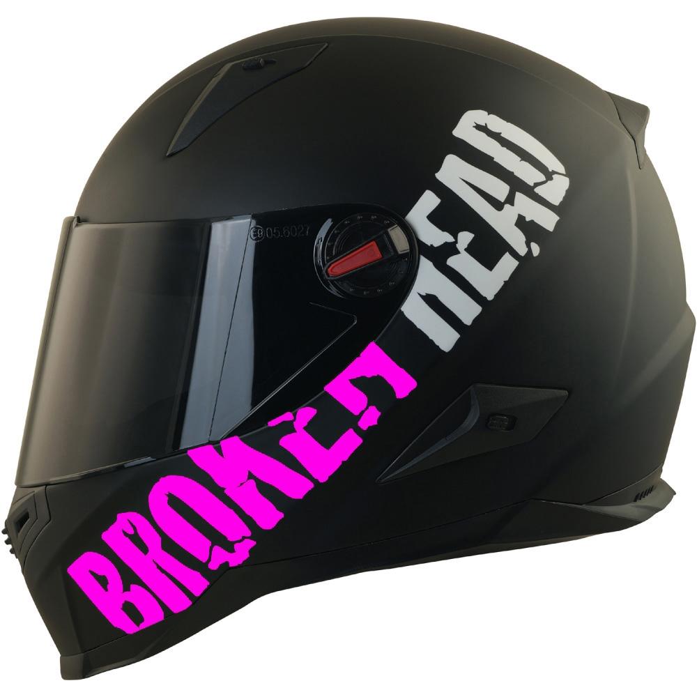 Broken Head Ersatz-Visier F/ür Motorradhelme I Visier F/ür Endurohelme Made2Rebel /& Street Rebel I Gold Verspiegelt