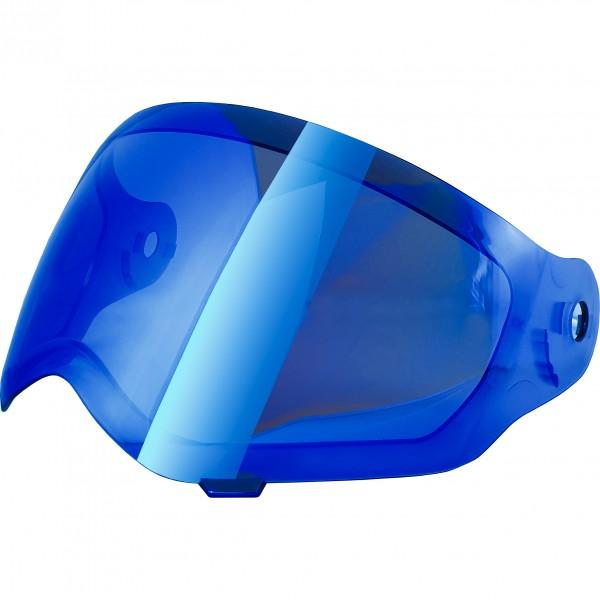 Broken Head Visier BLAU verspiegelt für Enduro VX2   Jack.S VX2   Fullgas Viking VX2   Road Pirate V